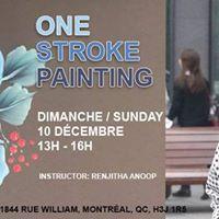 One Stroke Painting Workshop