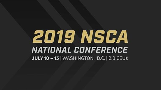 2019 NSCA National Conference at Washington, DC, Washington