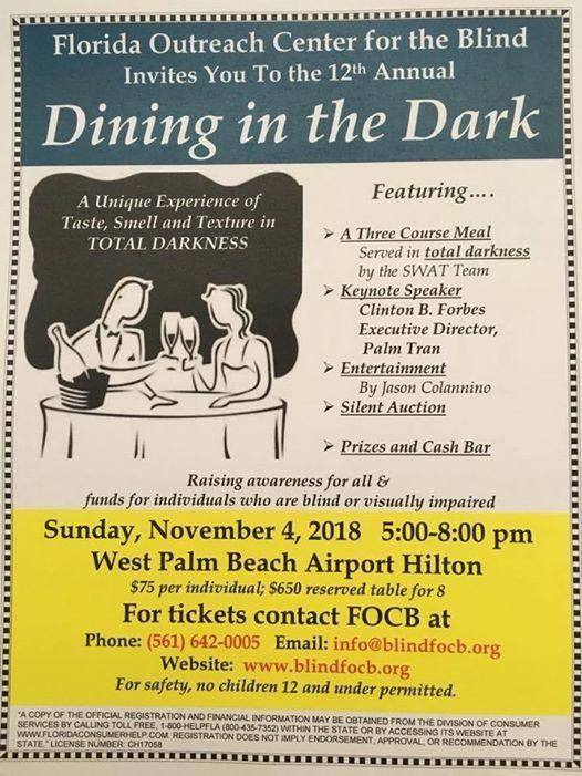 dining in the dark florida