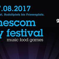 Gamescom city festival - kostenfrei und drauen