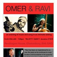 An evening of music with Omer and Ravi