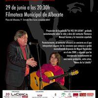 Concierto homenaje al cantautor flamenco Manuel Gerena