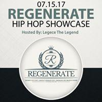 Desert City Entertainment presents Regenerate Hip Hop Showcase and Open Mic