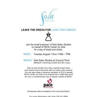 Dress Collection Party for Pace Center For Girls