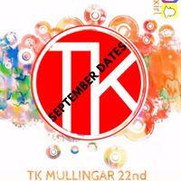 TK September Dates- Mullingar Edition.