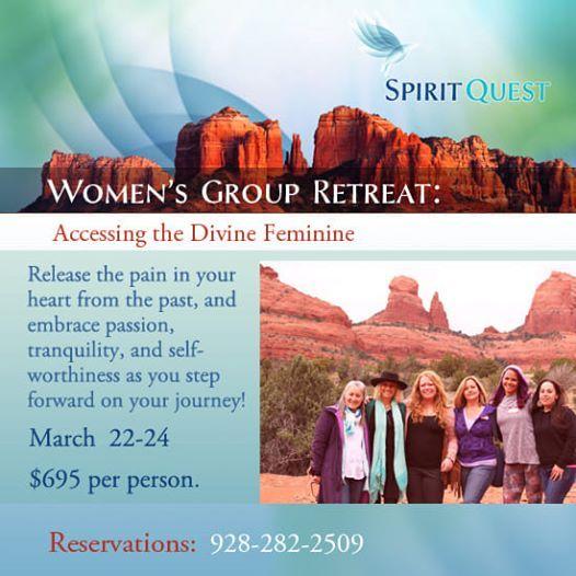 SpiritQuest Sedona Retreats