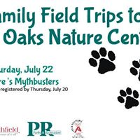 Family Field Trip to Red Oaks Nature Center