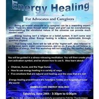 Energy Healing&quot for Advocates &amp Caregivers by Maria Bott