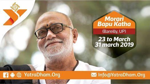 Morari Bapu Katha 2019 Bareilly Uttar Pradesh
