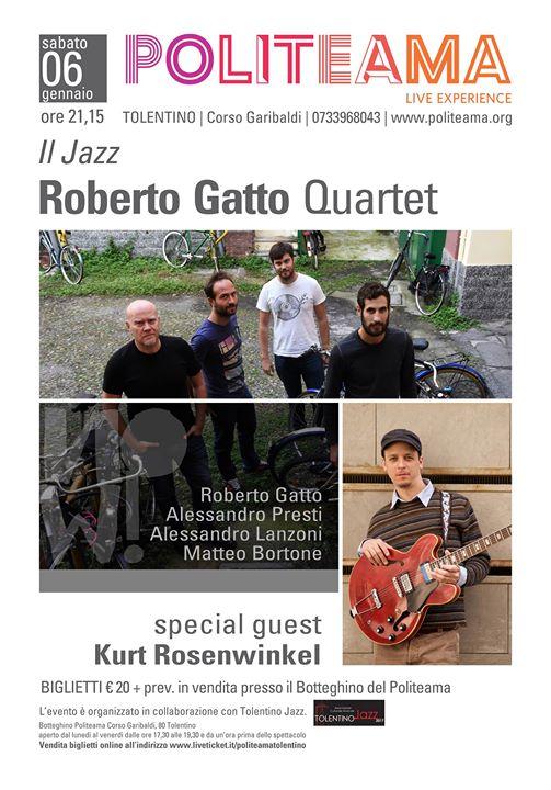 Roberto Gatto Quartet feat Kurt Rosenwinkel