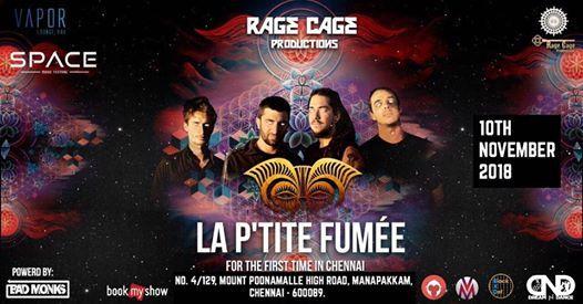 La Ptite Fume Live Concert Chennai
