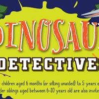 Messy Play Andover (AM) - Dinosaur Detectives