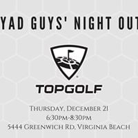 YAD Guys Night Out Topgolf