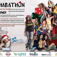 Zumbathon Christmas Charity event