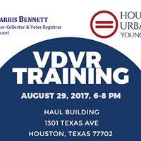 Volunteer Deputy Voter Registar Training
