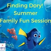 ARTventurers Summer &quotFinding Dory&quot Family Fun Session