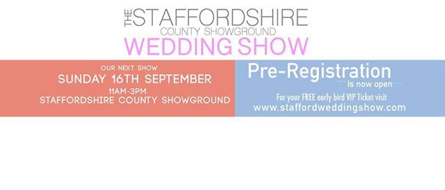 Staffordshire County Showground Wedding Show
