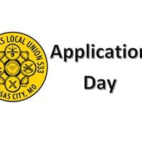 Application Day for Pipefitter Apprenticeship Program
