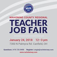 Mahoning County Regional Teacher Job Fair