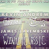EMO vs POP PUNK night w Jimmy Zarembski &amp Kevin Andrew