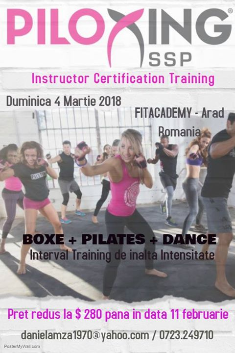 Piloxing SSP Instructor Certification Training