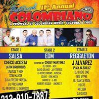 Festival Colombiano J Alvarez Latin Brothers Y Mas Tickets (213)910-7887