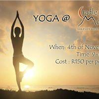 Yoga at Cradle Moon