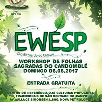 EWESP - 2017 Workshop de folhas sagradas do candombl