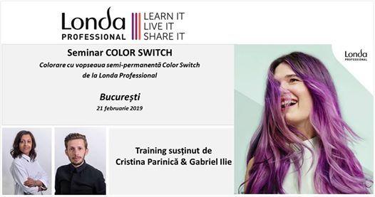 Seminar Londa Color Switch - cu hands-on