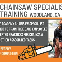 TCIA Chainsaw Specialist Training Class Saturday - Sept 30 2017