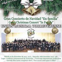 Gran Concierto de Navidad &quotEn familia&quotUnin Musical Torrevejense