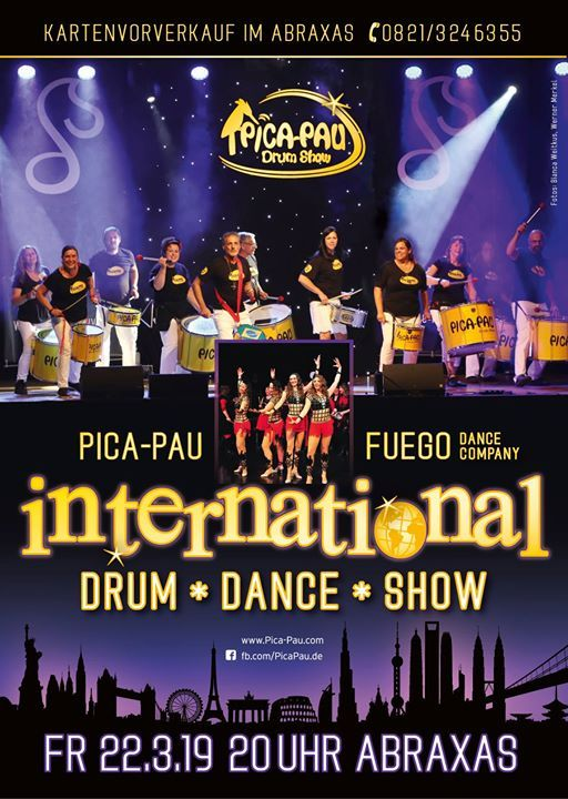 Pica-Pau & Fuego International Drum & Dance-Show