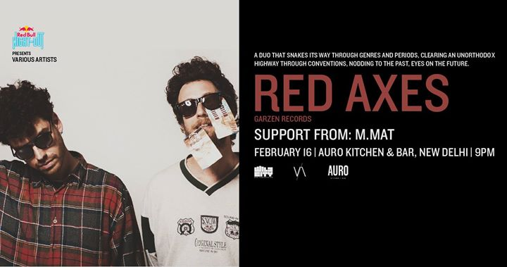 Red Bull Night Out Presents Various Artists Red Axes (IL)