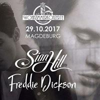 SION HILL  FREDDIE DICKSON - Wohnzimmerkonzerte Magdeburg