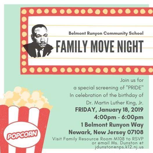 MLK Jr. Family Movie Night