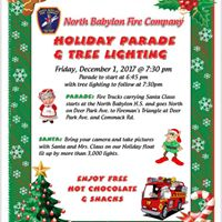 Holiday Parade and Tree Lighting