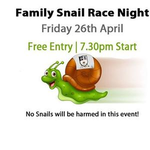 Snail Racing Night
