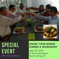 Know Your Bones Dinner &amp Discussion at The Purple Spoon