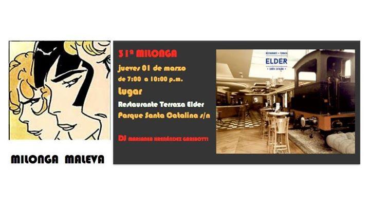 Milonga Maleva At Restaurante Terraza Elder Las Palmas De