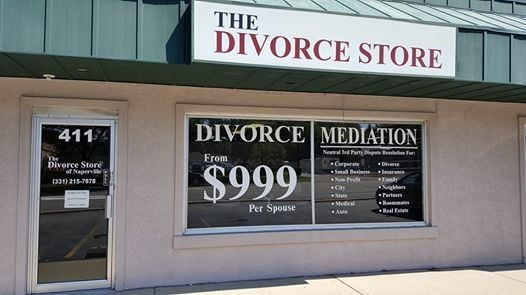 The divorce store