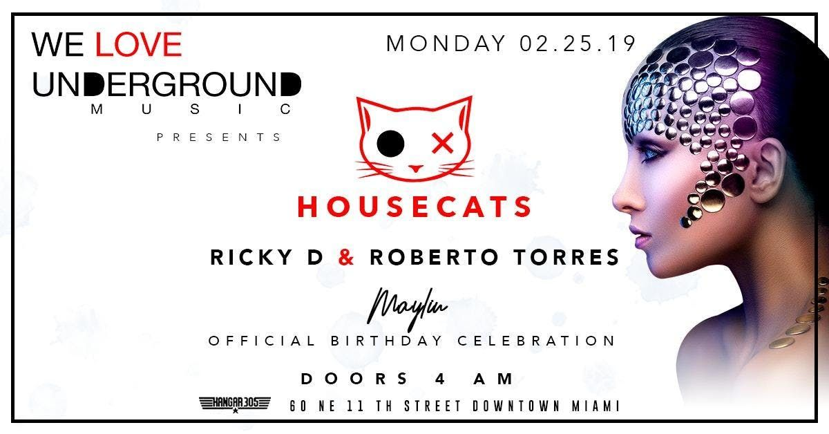 House Cats Ricky D Roberto Torres