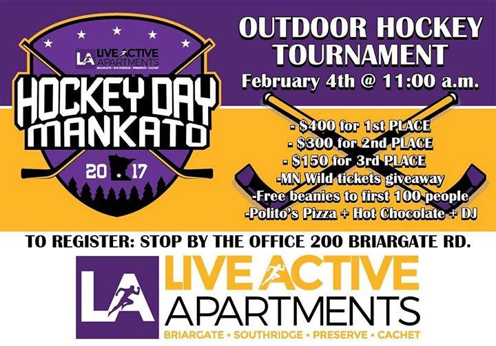 Hockey Day Mankato At 200 Briargate Rd Mankato Mn 56001 5044