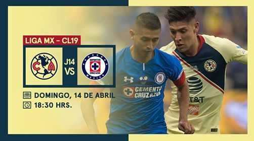 J14 America Vs Cruz Azul Clausura 2019 At Estadio Azteca Coyoacan