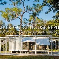 Walker Guest House Replica Closing Day Party
