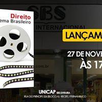 Recife - Direito no Cinema Brasileiro - lanamento e autgrafos