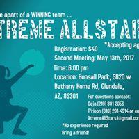 Xtreme AllStars Second Meeting