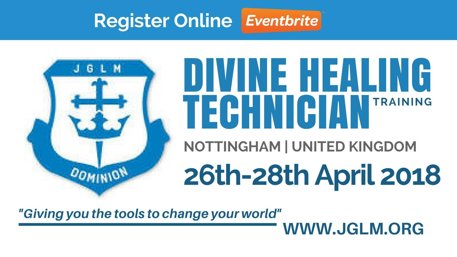NOTTINGHAM JGLM Divine Healing Technician Training