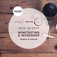 STAMcaf invites ONA - winetasting &amp workshop 2