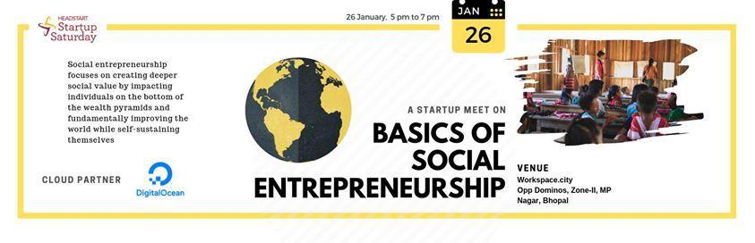 Basics of Social Entrepreneurship
