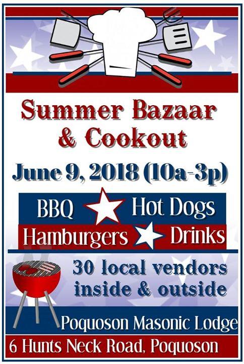 Summer Bazaar & Cookout